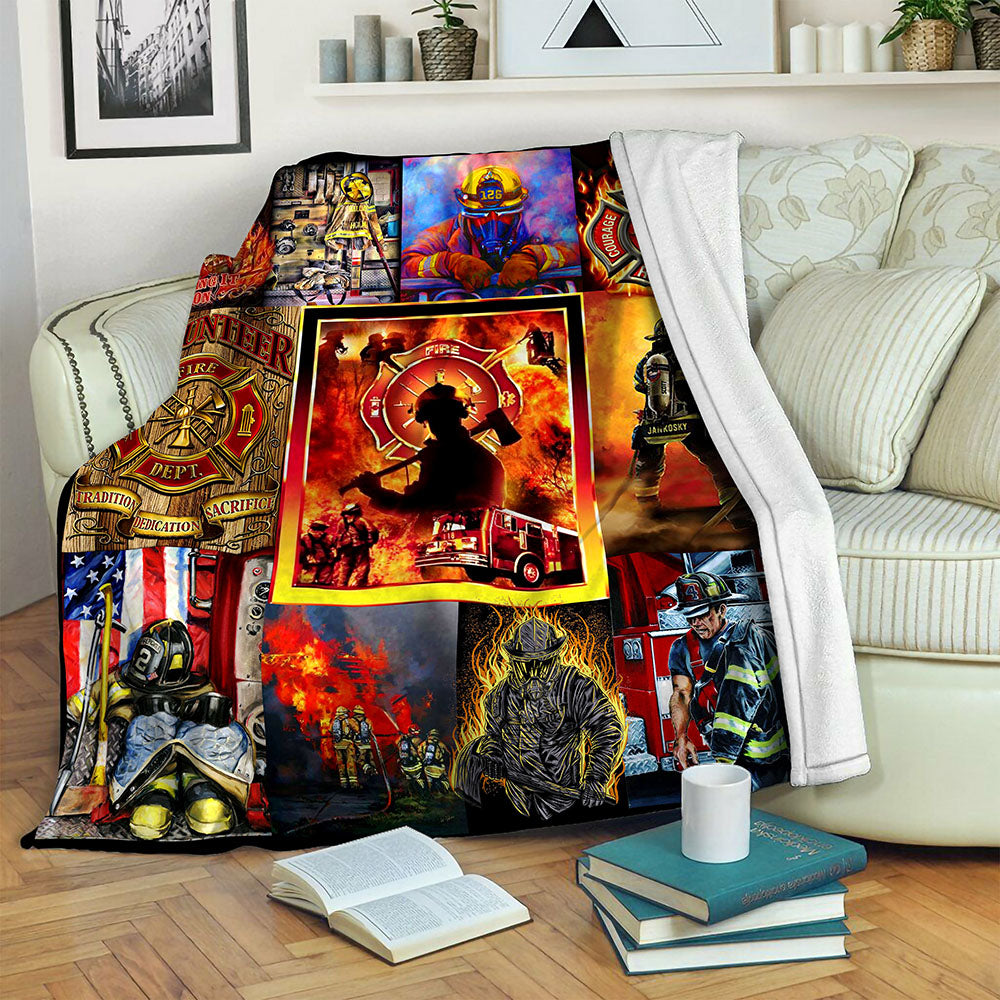 Fireman TVH1610904 Fleece Blanket