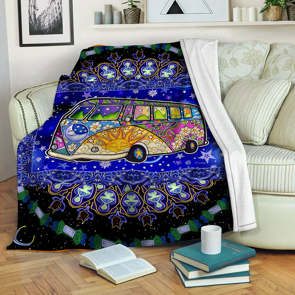 Hippie Fleece Blanket CCC19101815