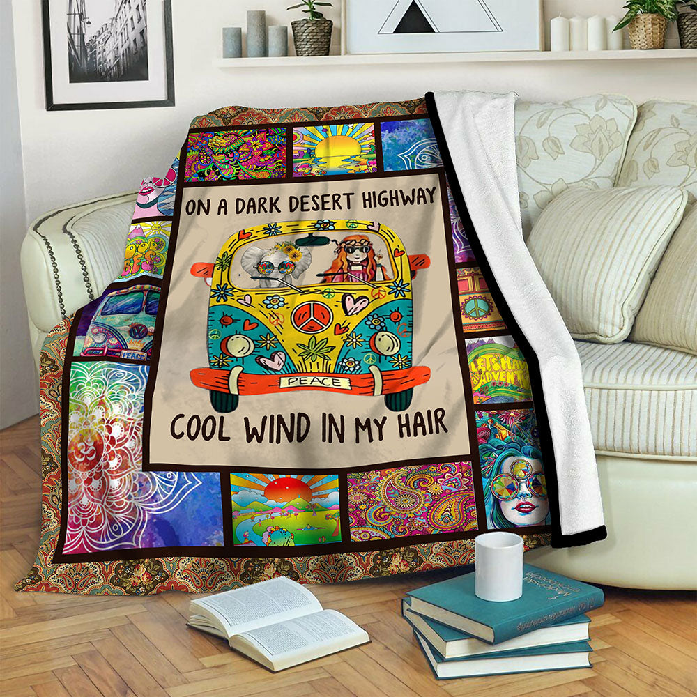 Hippie Fleece Blanket CCC19102216