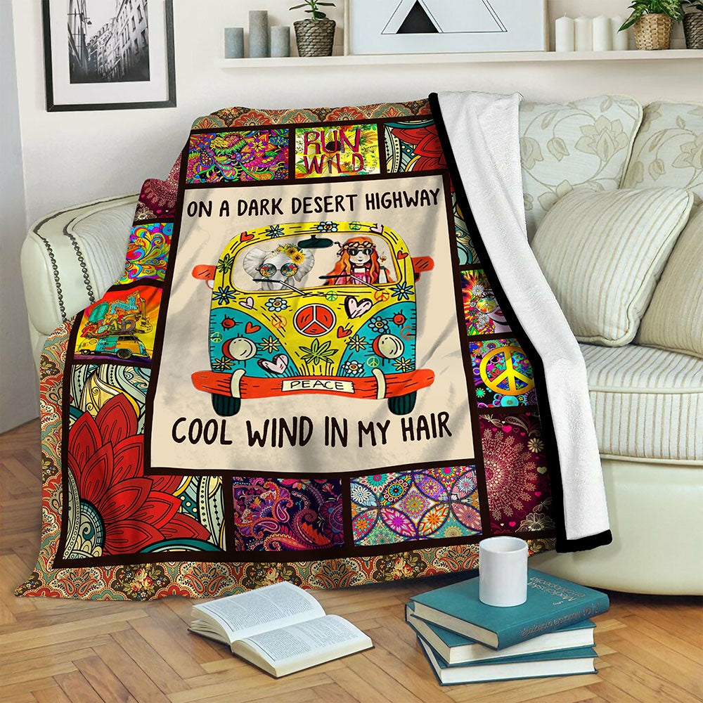 Hippie Fleece Blanket CCC19102219