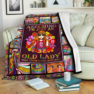 Hippie Fleece Blanket CCC19102234