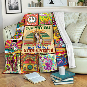 Hippie Fleece Blanket CCC19104077