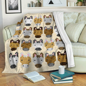 Horse Fleece Blanket CCC1910130