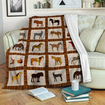 Horse Fleece Blanket CCC19102940