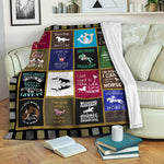 Horse TVH16101016 Fleece Blanket