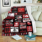 Nurse TVH16101066 Fleece Blanket