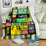 Softball TVH16101192 Fleece Blanket
