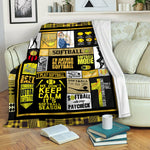 Softball TVH16101205 Fleece Blanket