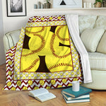 Softball TVH1610347 Fleece Blanket