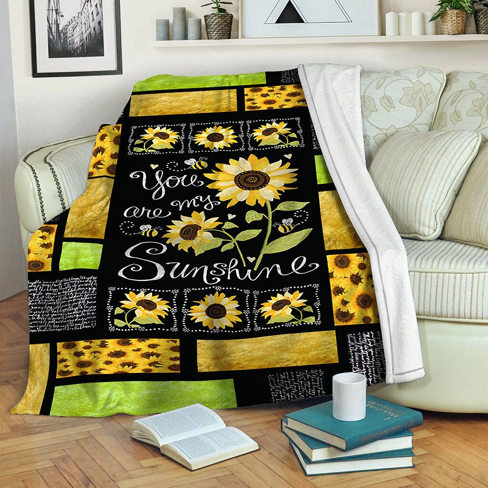 Sunflower TVH16101208 Fleece Blanket