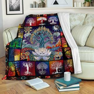 Tree Of Life Fleece Blanket CCC1910200