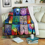 Tree Of Life Fleece Blanket CCC19103869