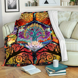 Tree Of Life TVH1410247 Fleece Blanket