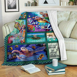 Turtle Fleece Blanket BBB291030NB