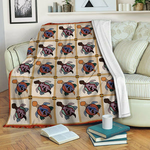 Turtle Fleece Blanket CCC19103944