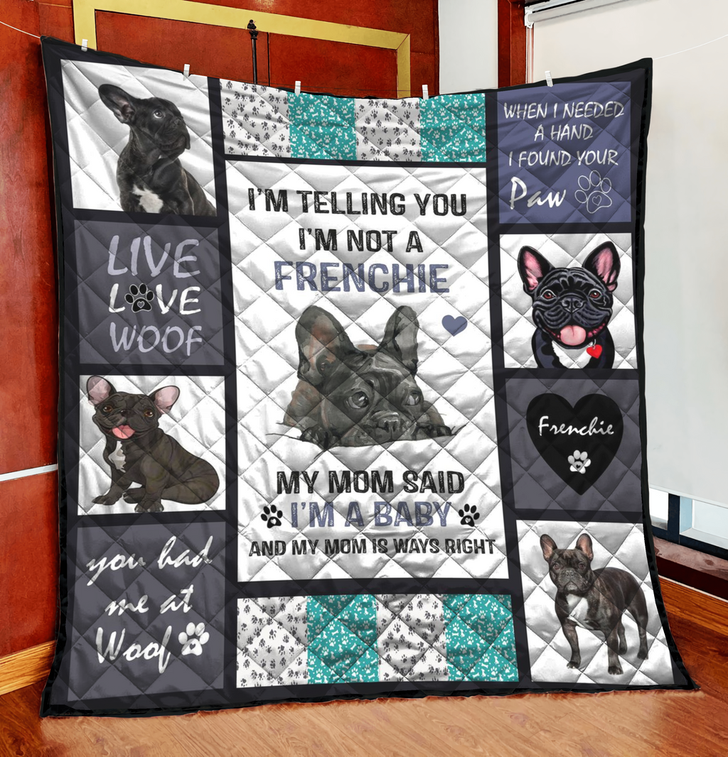 French Bulldog Quilt Blanket TAB180121