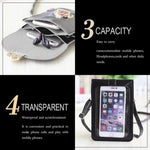Touch Screen Waterproof Leather Cross-body Phone Bag for Iphones, Samsung & more - Nestzones