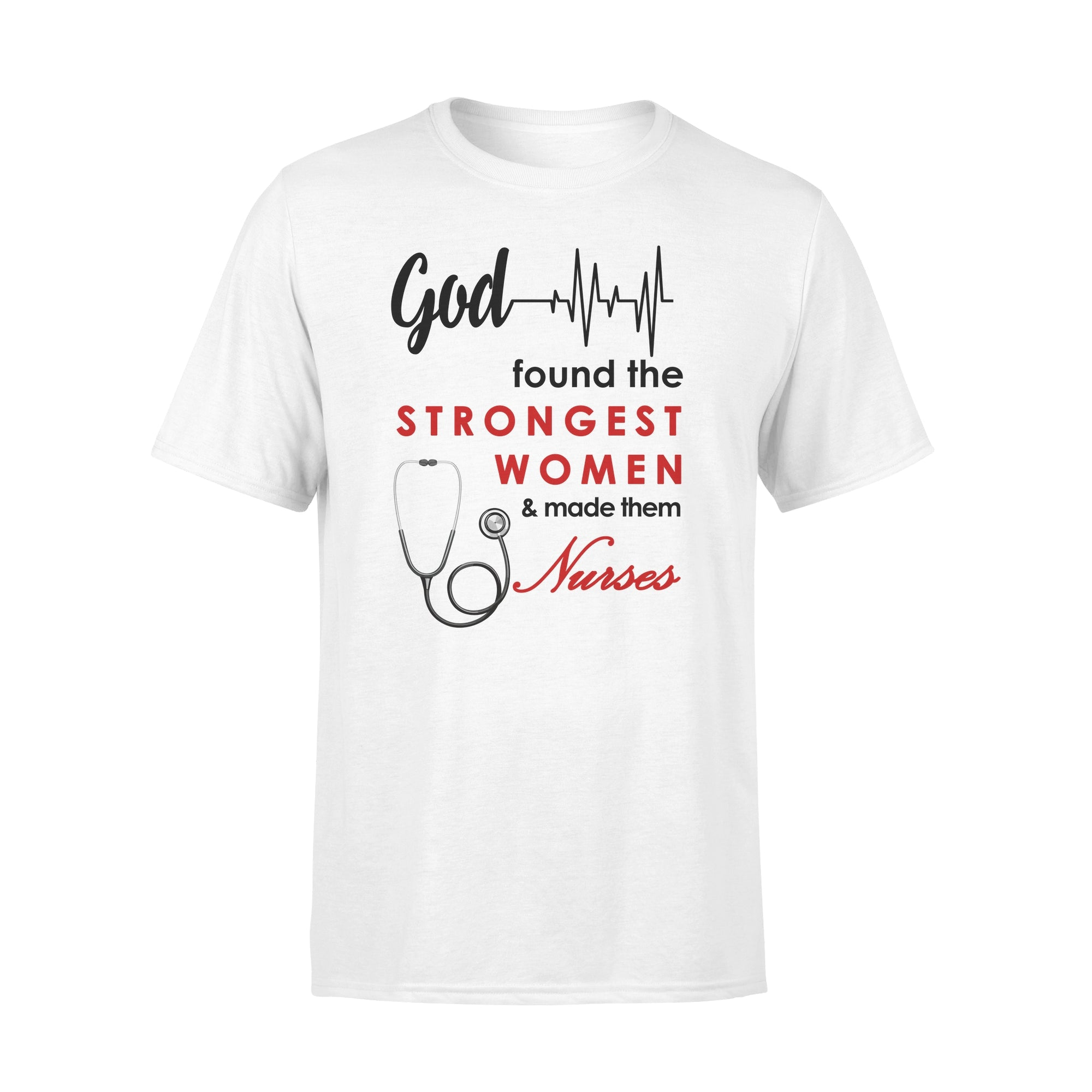 VIRA Premium Tee For God Lovers & Great Nurses