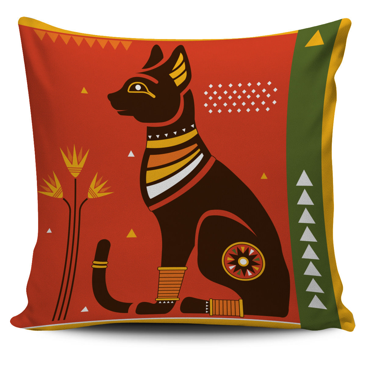 Egiptian Cat Pillow Cover