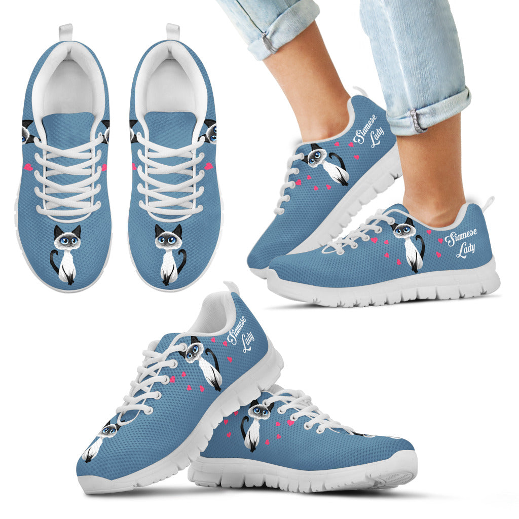 Siamese Cat Kid's Sneakers