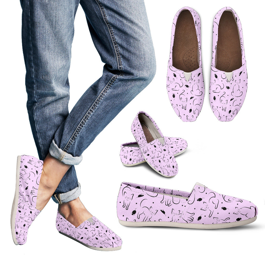 Pink Cat Women's Casual Shoes