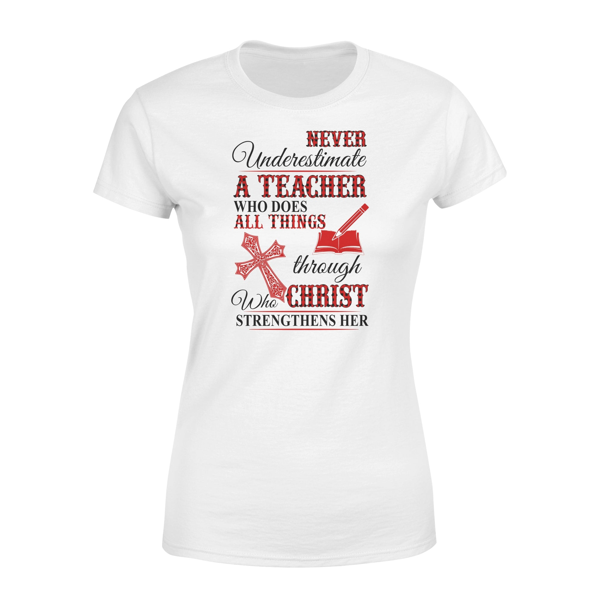 VIRA Premium Women's Tee For Jesus Lovers & Awesome Teachers