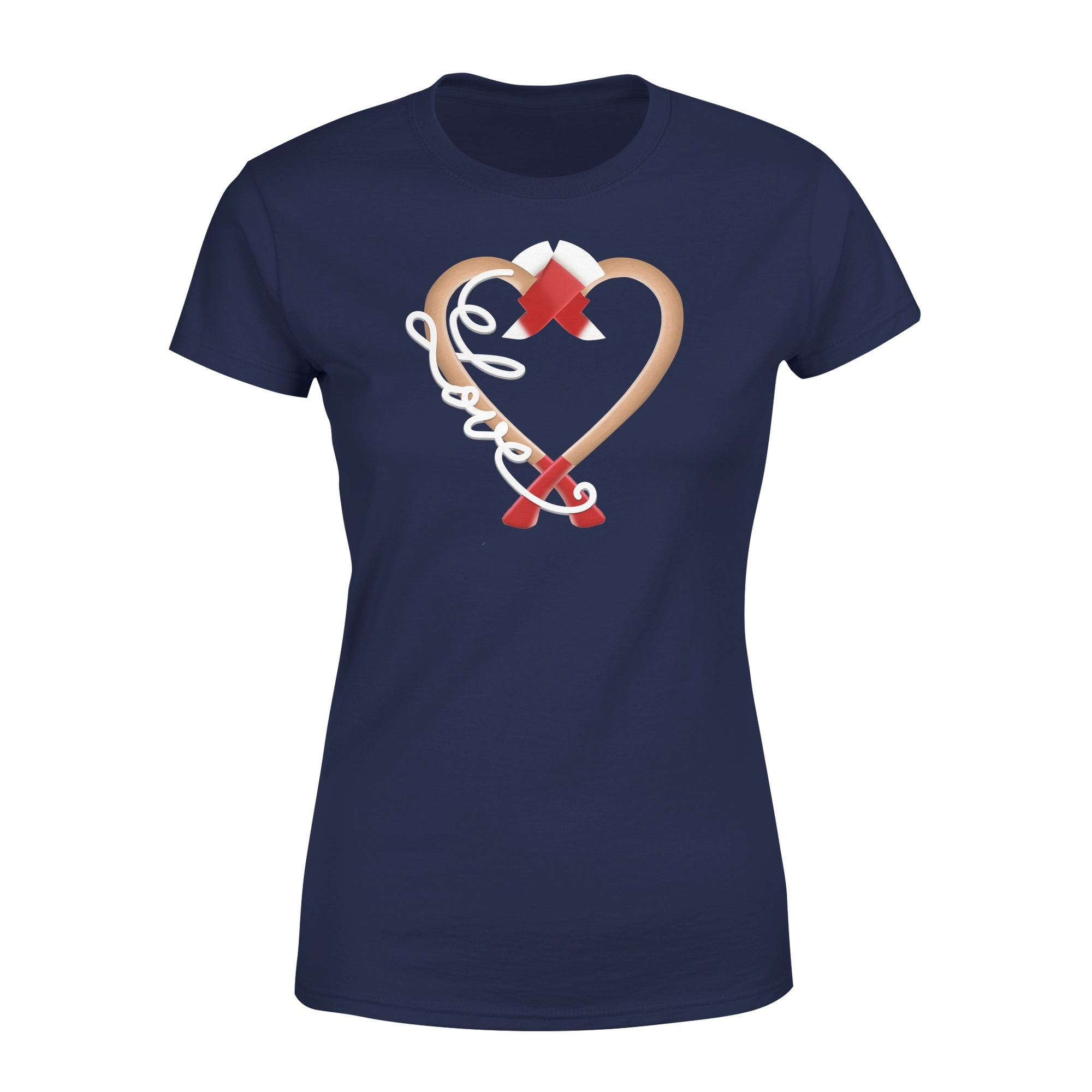 Vira Premium Women's Tee for firefighter lovers