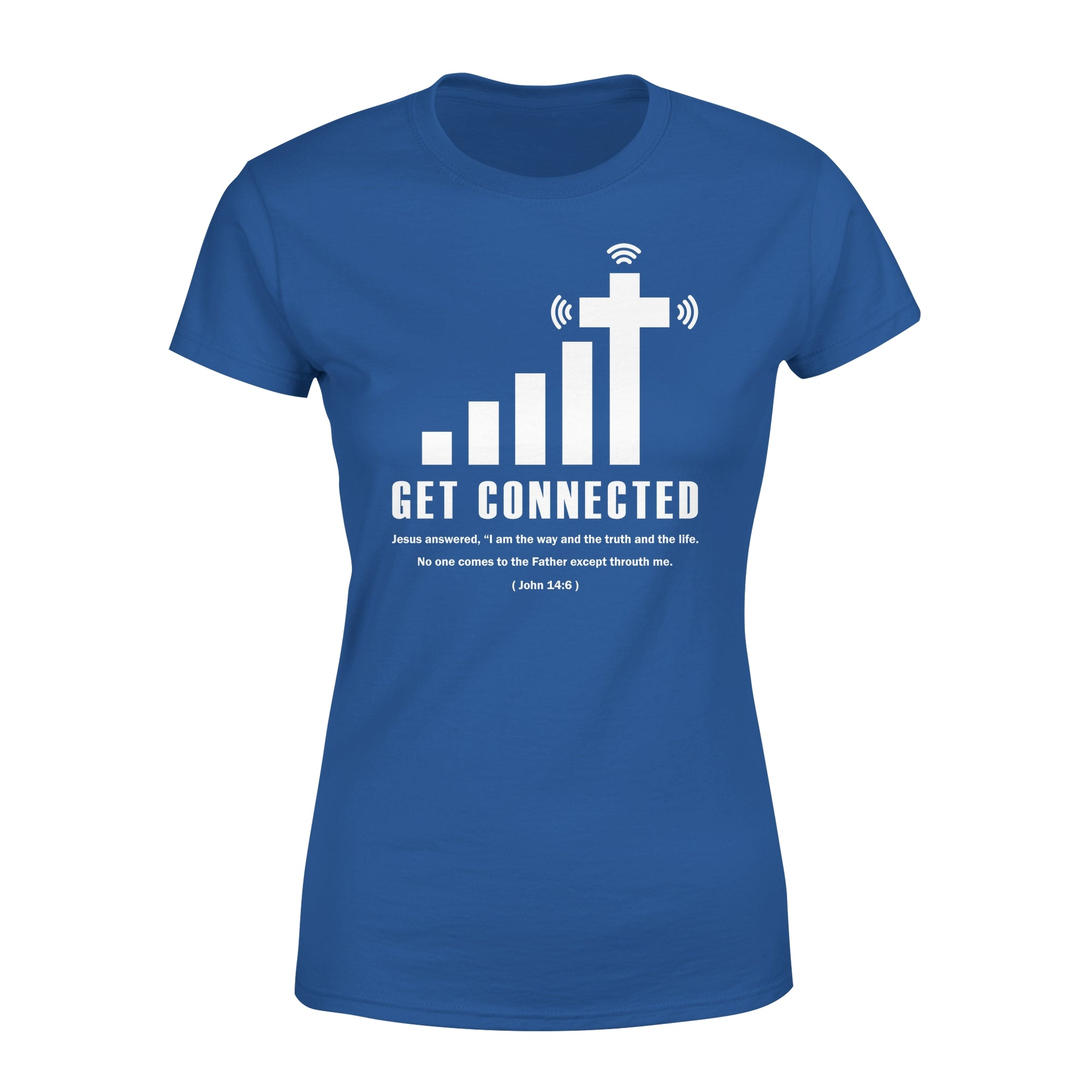 VIRA Premium Women's Tee For Jesus Lovers