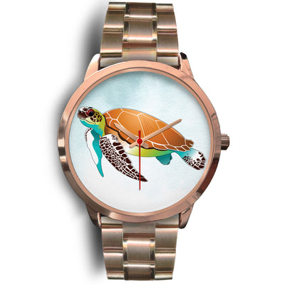 Love Turtle Japanese Movement Stainless steel Watch