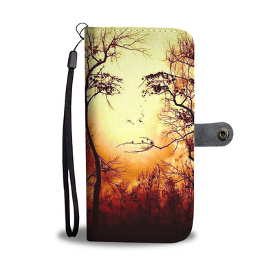 VIRA Leather- like Wallet Case For Mother Earth Lovers