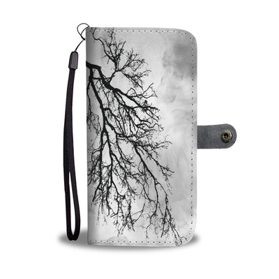 VIRA Green Lungs Leather -like Wallet Case For Nature Lovers