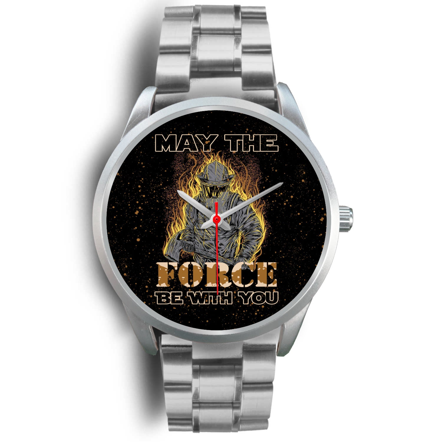 VIRA STAINLESS STEEL WATCH FOR FIREFIGHTER