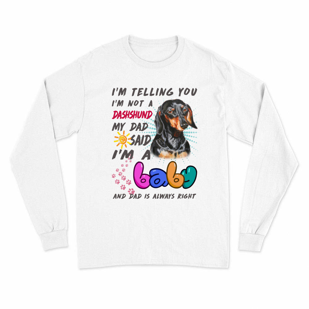 VIRA Long Sleeve T-Shirt For Dog Lovers