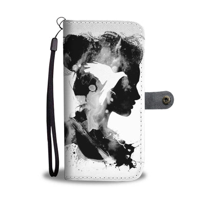 VIRA Peace In Mind Leather- like Wallet Case For Art Lovers