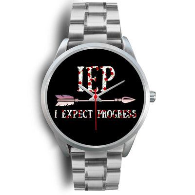 VIRA Silver Stainless Steel Watch For Awesome IEP Teachers