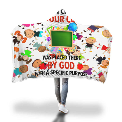 VIRA Cozy Hooded Blanket For God Lovers & Great Teachers