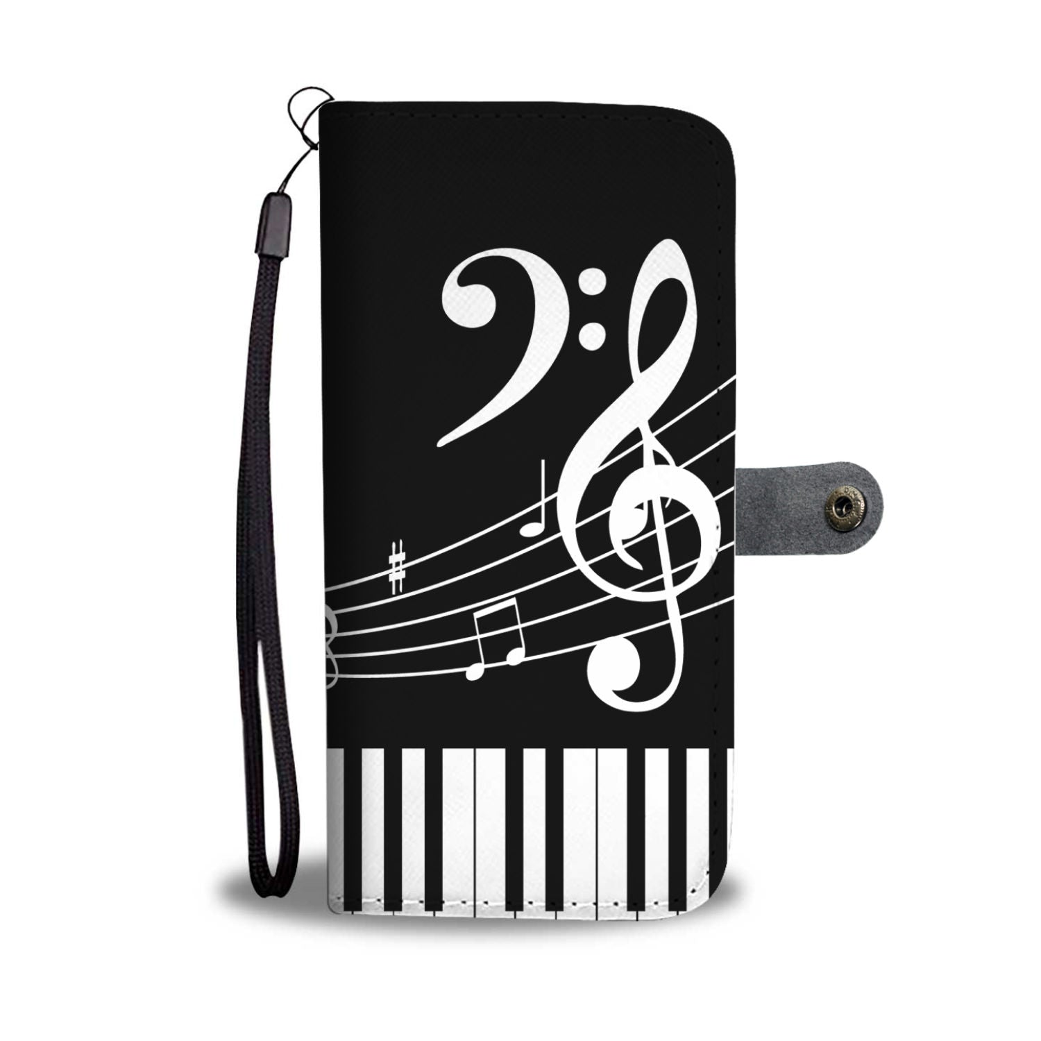 VIRA Piano Leather- like Wallet Case For Awesome Teachers