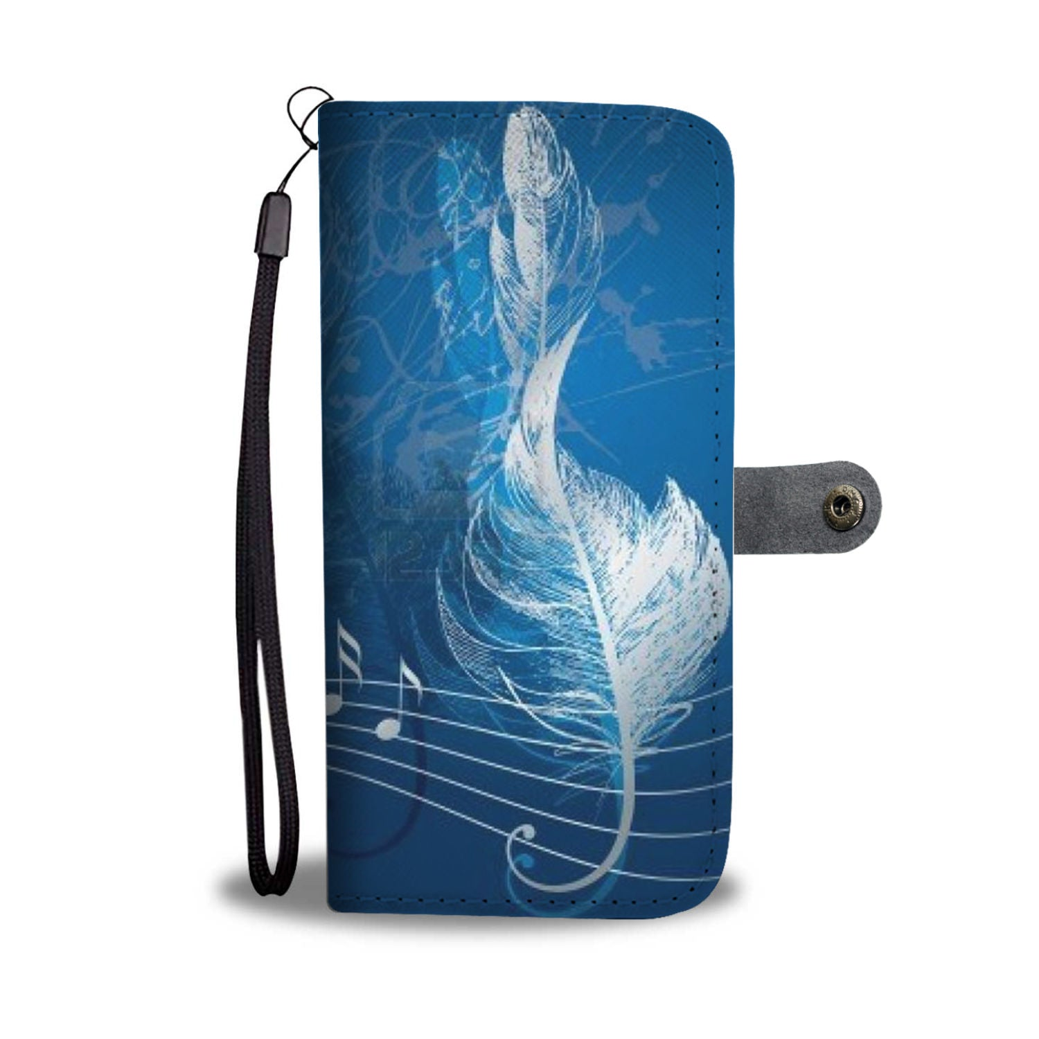 VIRA Feather Treble Leather- like Wallet Case For Awesome Teachers
