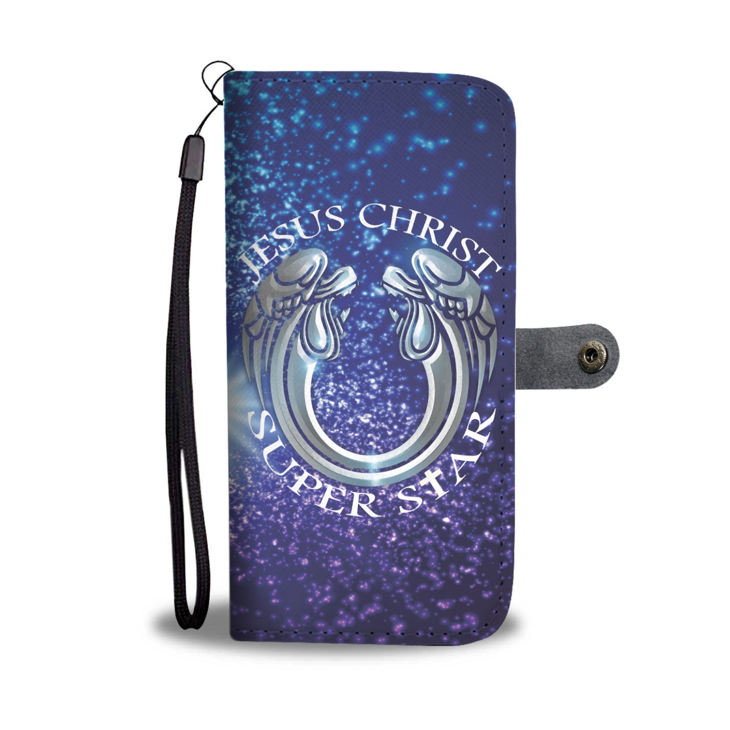 VIRA Awesome Leather-like Wallet Case For Jesus Christ-Superstar Lovers