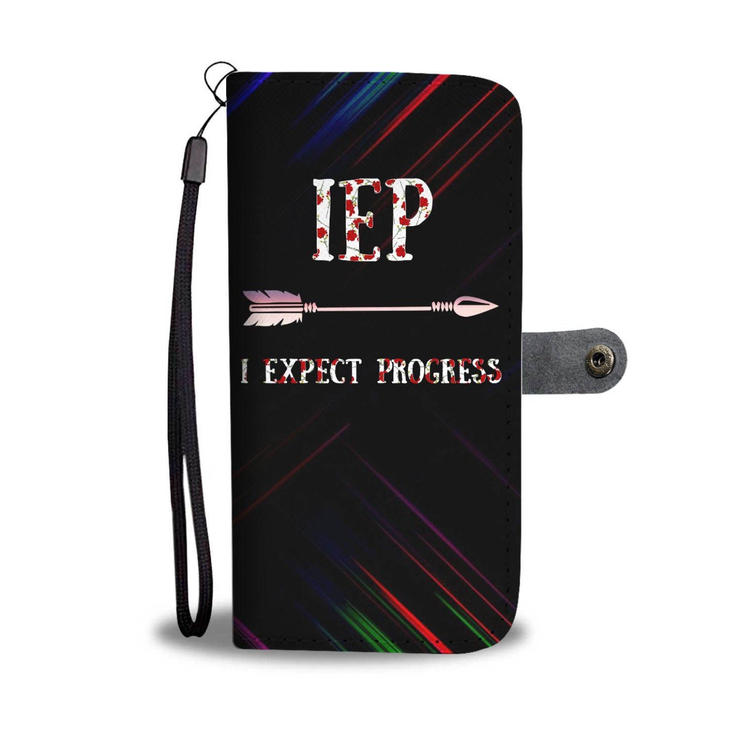 VIRA Leather- like Wallet Case For Awesome IEP Teachers