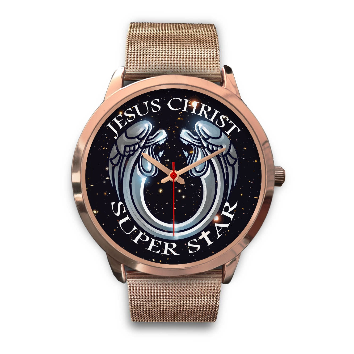 VIRA Awesome Rose Gold Watch For Jesus Christ-Superstar Lovers