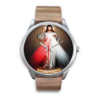VIRA Silver Watch For Jesus Christ Lovers