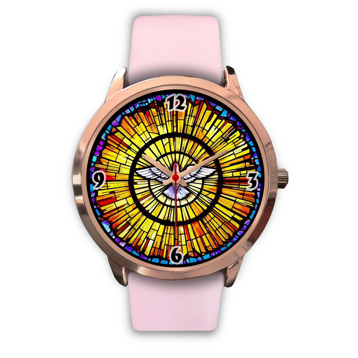 VIRA Awesome Rose Gold Watch For Jesus Christ Lovers