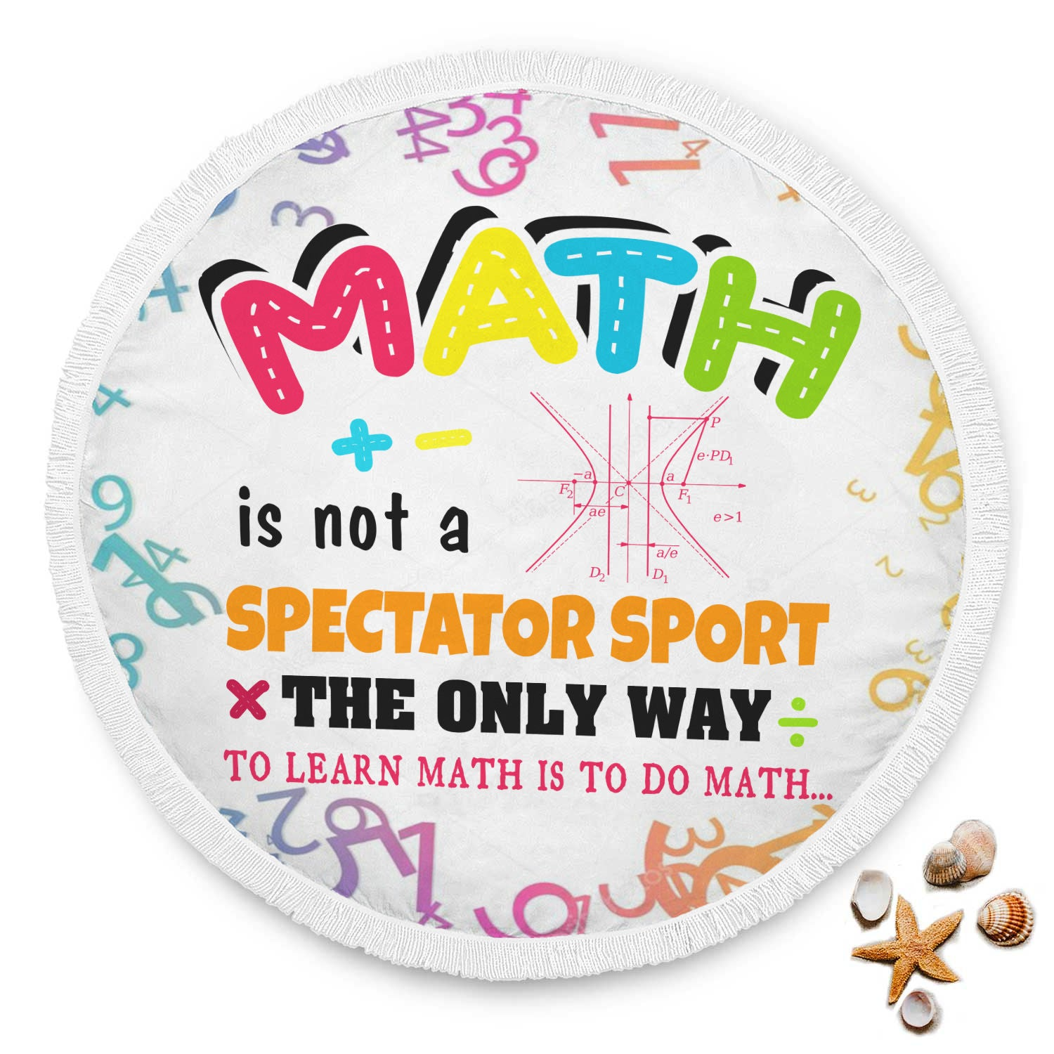 VIRA Math Circle Blanket For Awesome Teachers