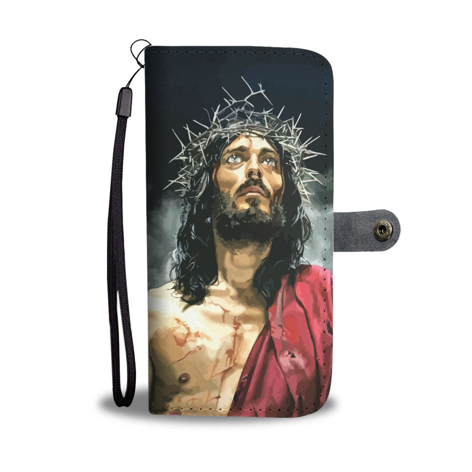 VIRA Awesome Leather-like Wallet Case For Jesus Christ Lovers