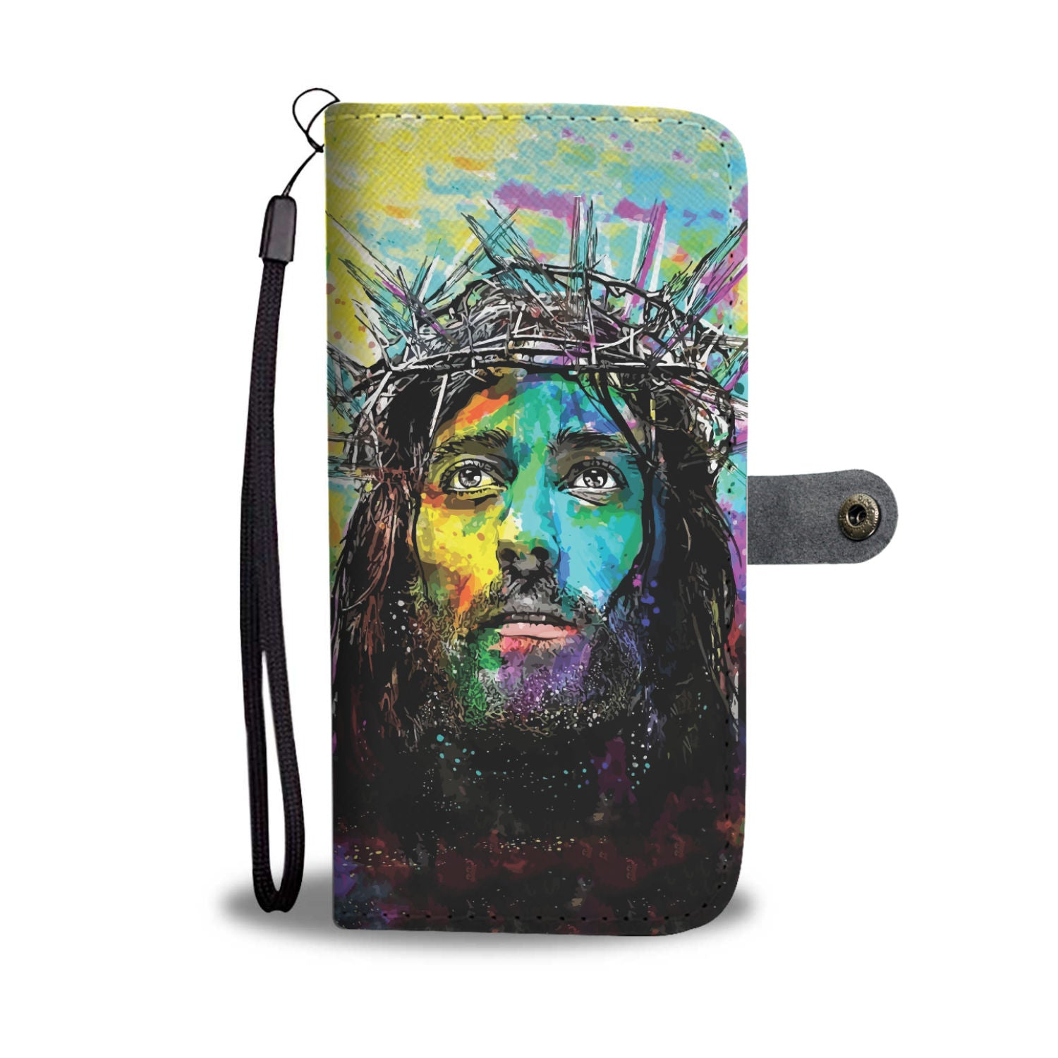 VIRA Leather-like Wallet Case For Jesus Christ Lovers