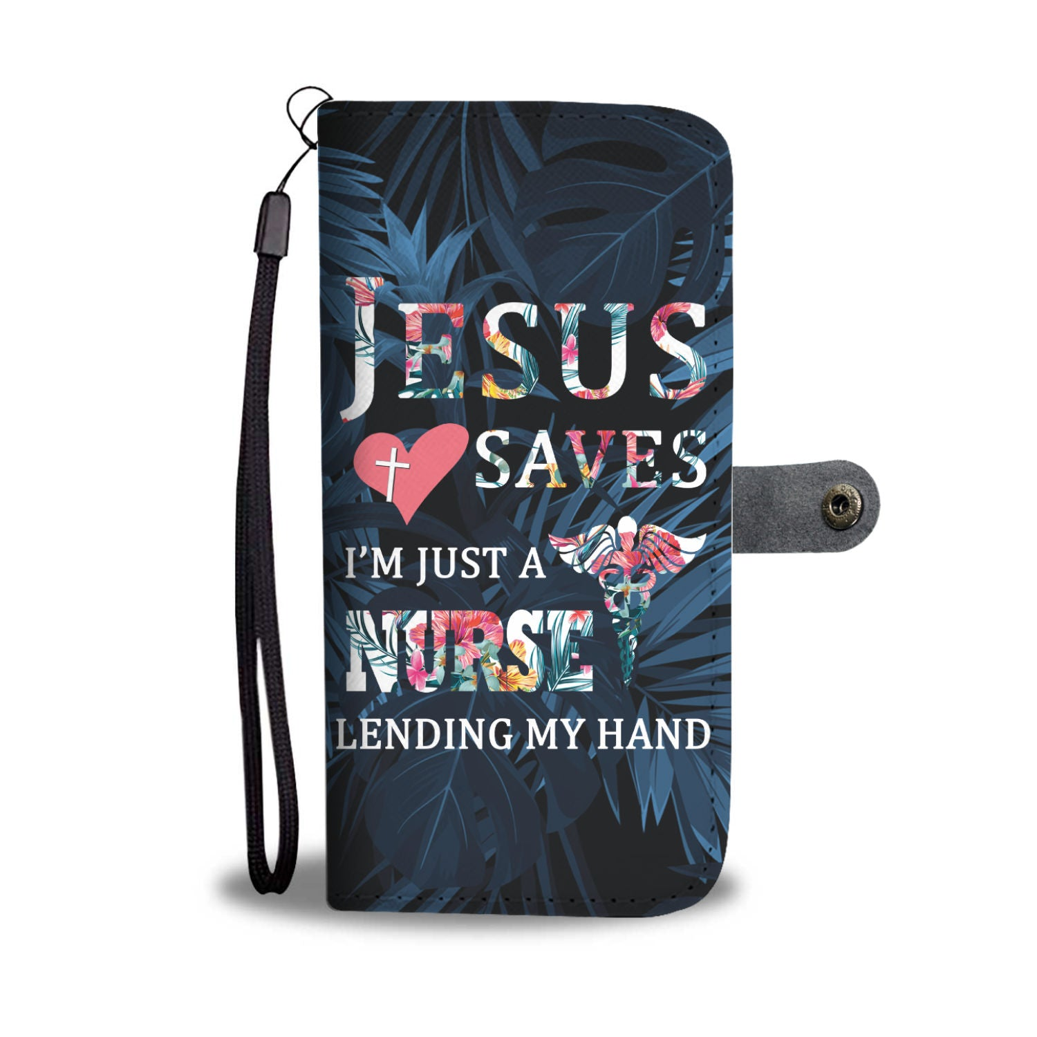 VIRA Awesome Wallet Case For Jesus Lovers & Great Nurses