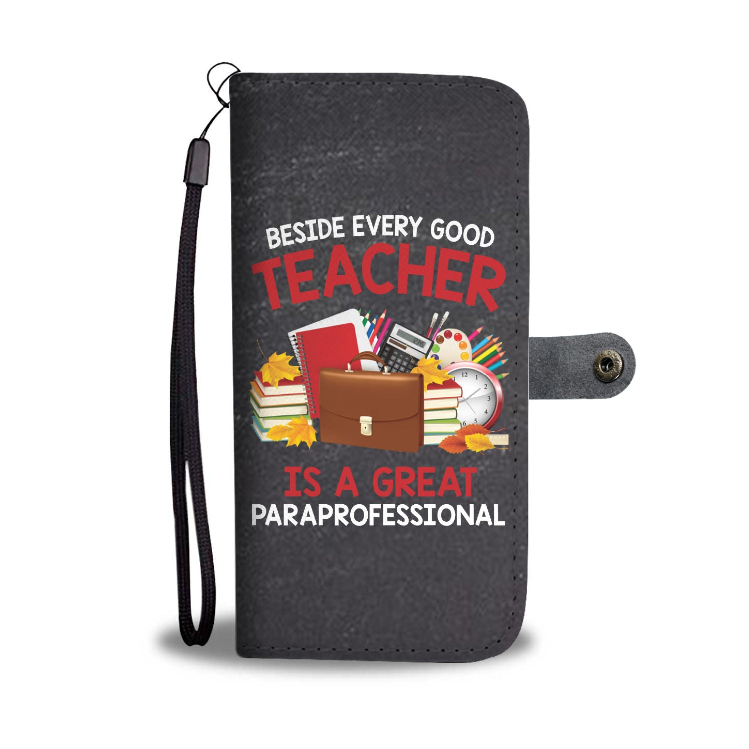 VIRA leather- like wallet case for awesome teachers & professionals