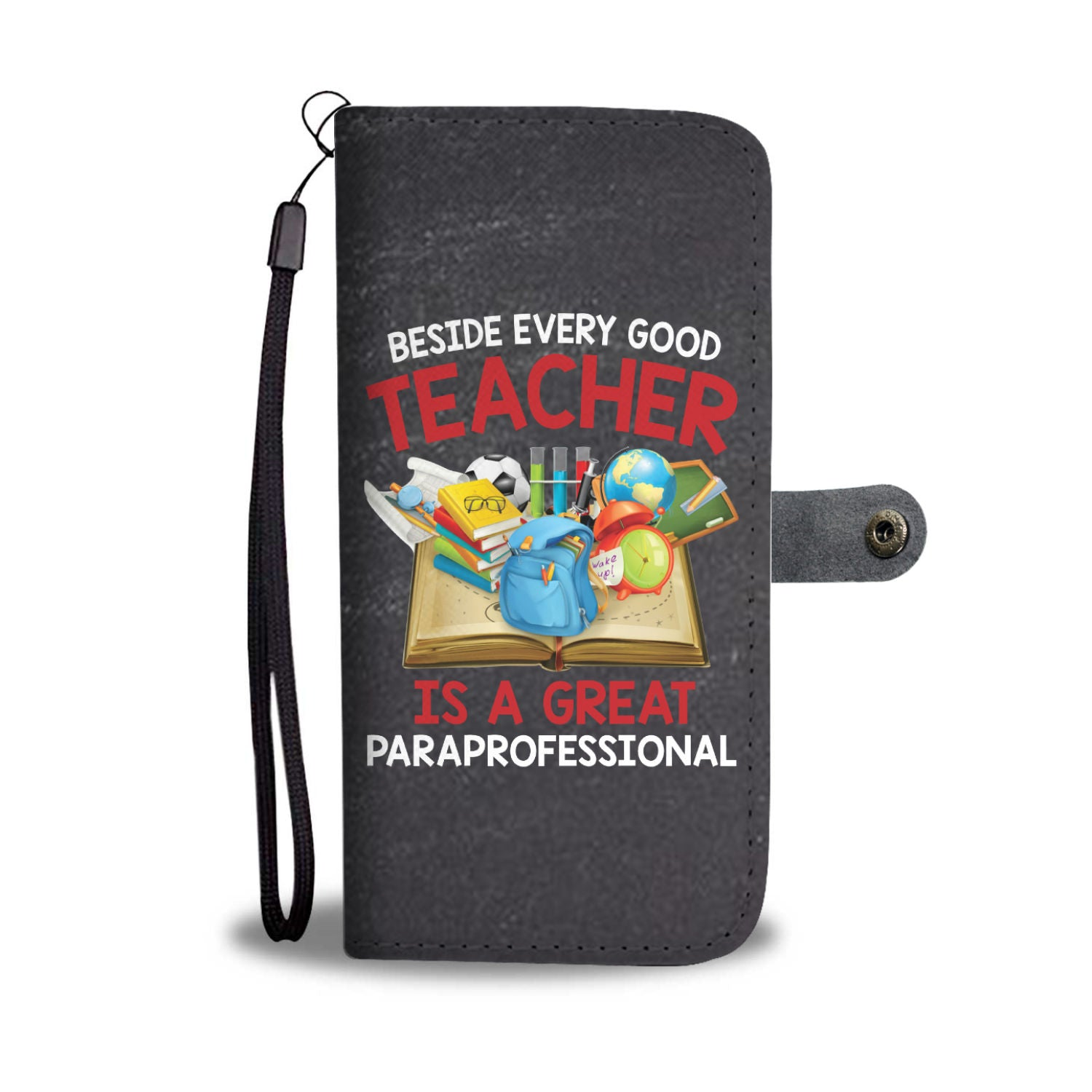 VIRA leather- like wallet case for awesome teachers & papaprofessionals