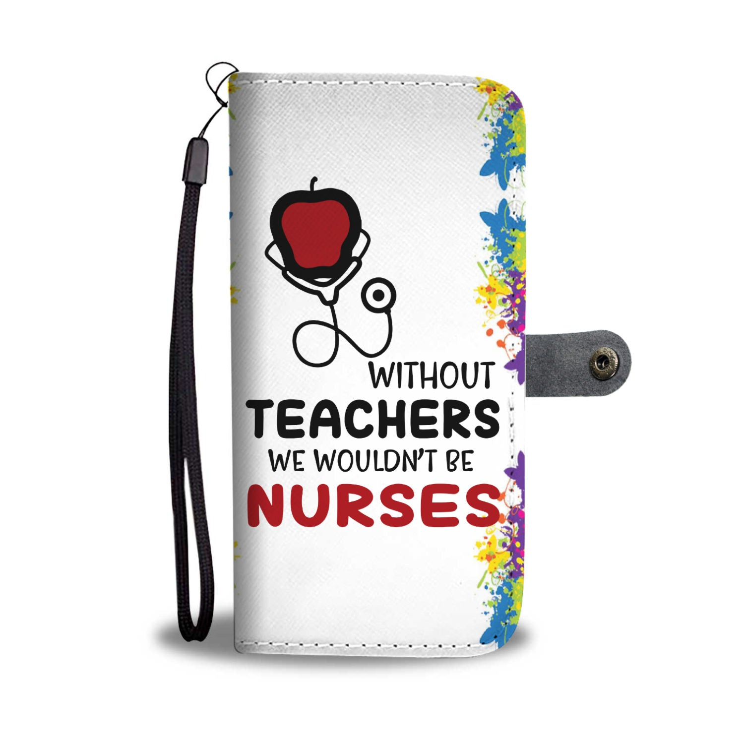 VIRA leather- like wallet case for awesome teachers & nurses